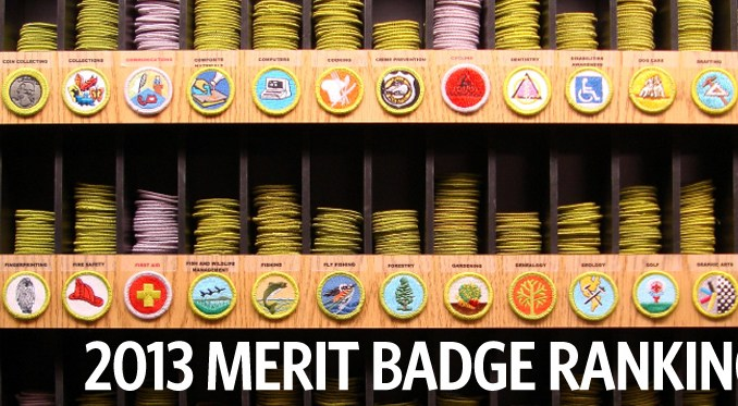 Here are the most and leastpopular merit badges of 2013 and of – Fishing Merit Badge Worksheet