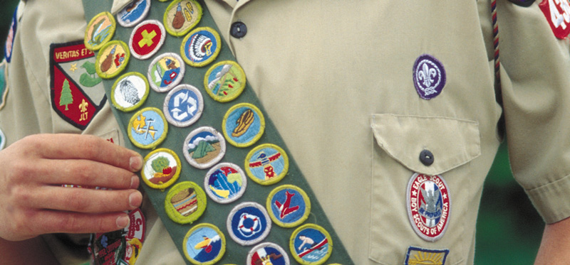 photo regarding Printable List of Merit Badges titled BSA discourages employ the service of of unofficial benefit badge worksheets