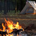 tent-flames