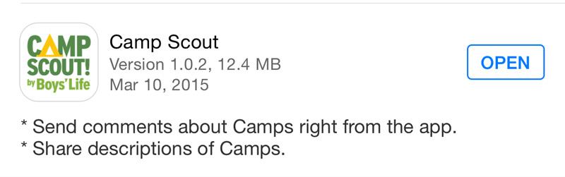 Camp-Scout-app-update