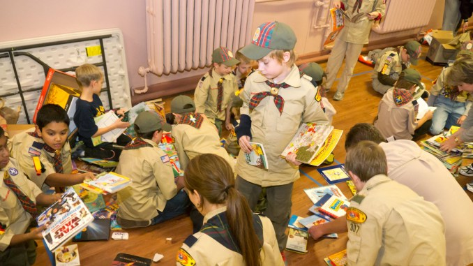 101 great Scout service project ideas