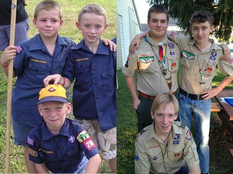 Brandon, Tyler and Jacob from Missouri