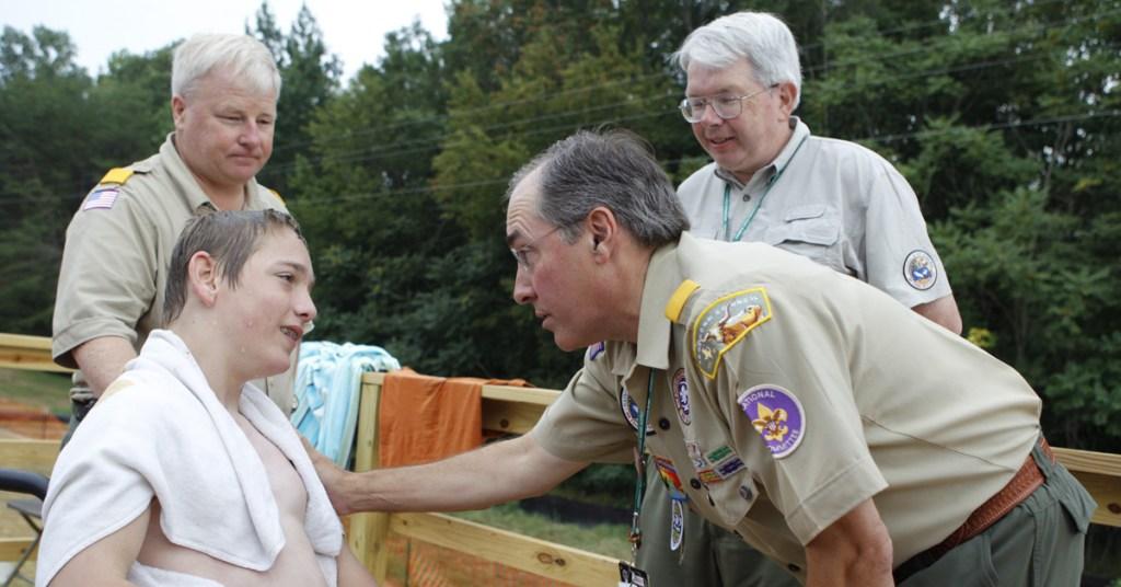 Glenn-Adams-with-Scout