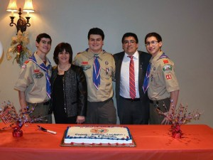 Neves Triplets Eagle Scouts