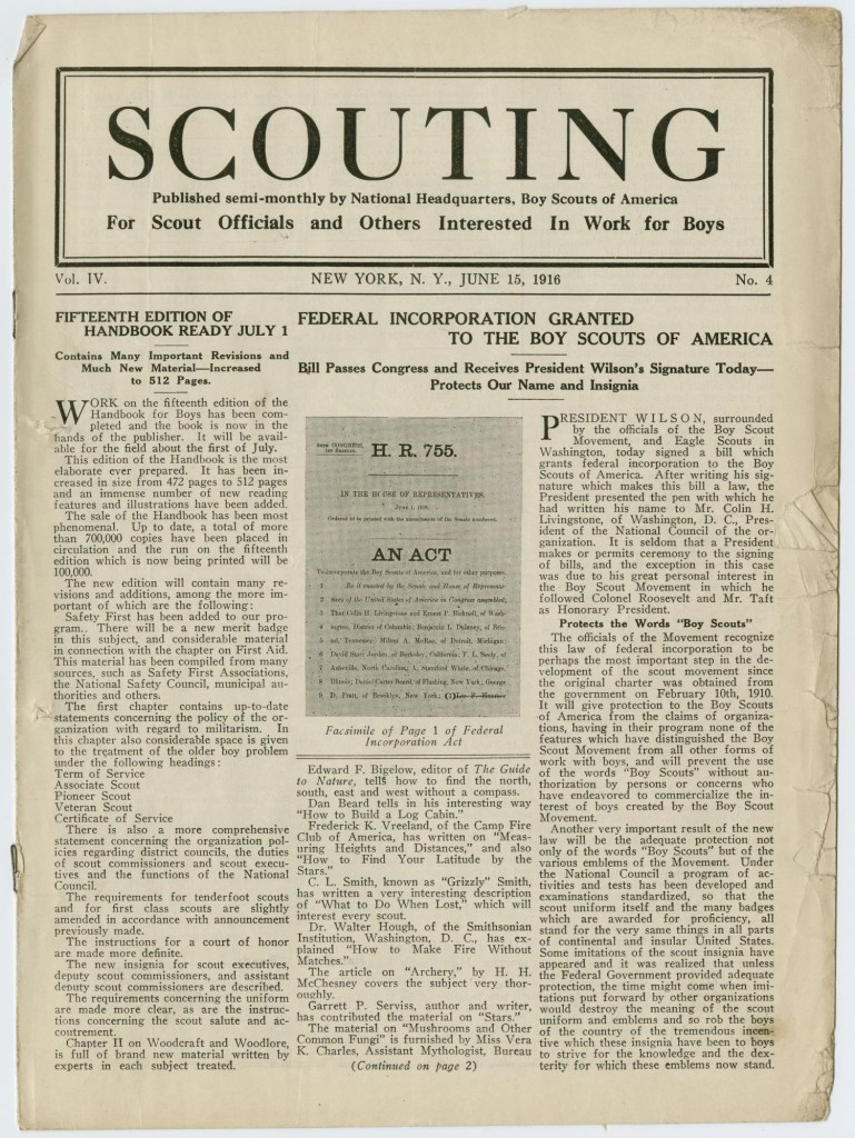 Scouting magazine June 15 1916 - 1