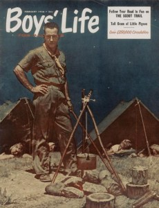The Scoutmaster Boys' Life 1956