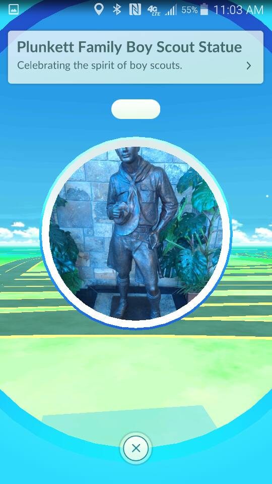 Atlanta Area Council PokeStop