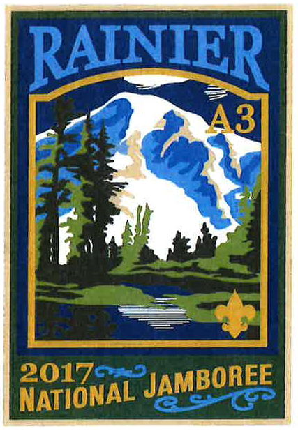 Rainier 2017 Jamboree subcamp patch