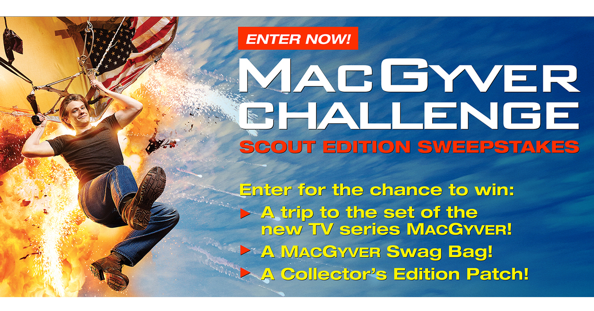 Scouts Can Win Big In Macgyver Challenge Scout Edition