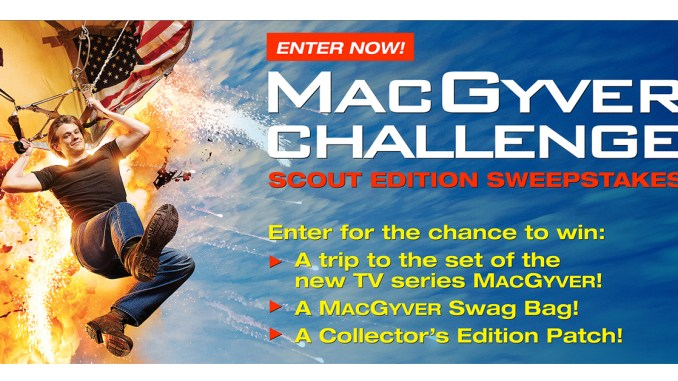 Scouts can win big in MacGyver Challenge: Scout Edition