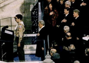 1997 inauguration Scouts