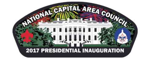 2017 inauguration National Capital Area Council patch