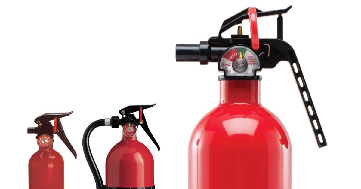 CFES draws attention to fire extinguisher recall