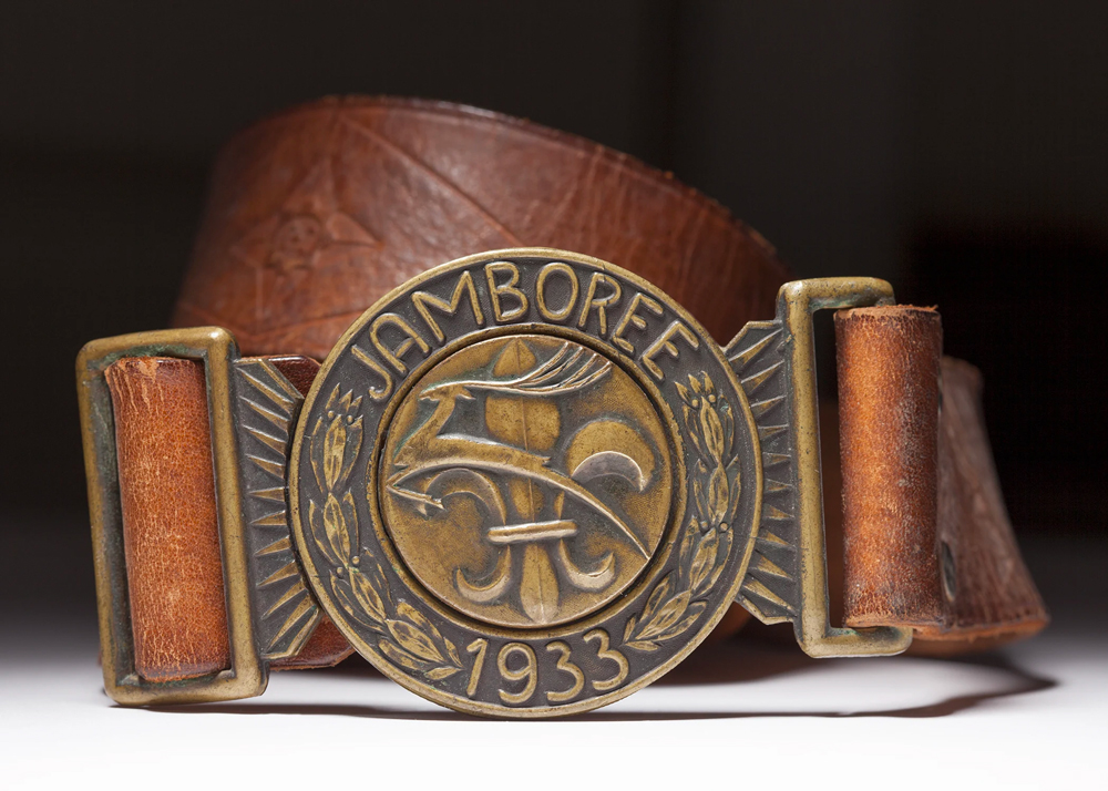 1933-World-Scout-Jamboree-belt-buckle
