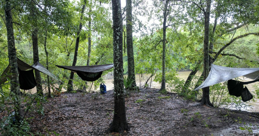 Troop 1005 of Michigan camped at the Louisiana Swamp Base, a council-owned high-adventure base in the Atchafalaya Swamp, Lafayette, La.