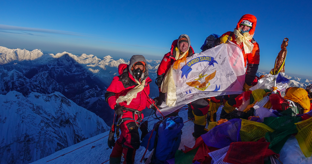 View from the top: What an Eagle Scout learned on his climb up Mount Everest