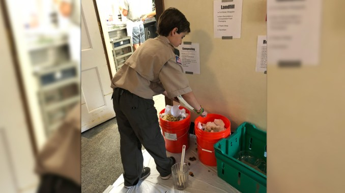 How to reduce waste at a Scout pancake breakfast or