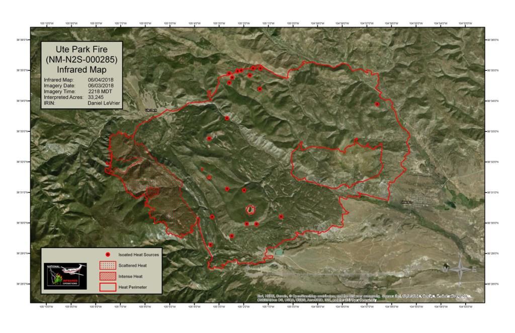 Philmont New Mexico Map.Ute Park Fire Forces Philmont To Cancel Treks Through July 14