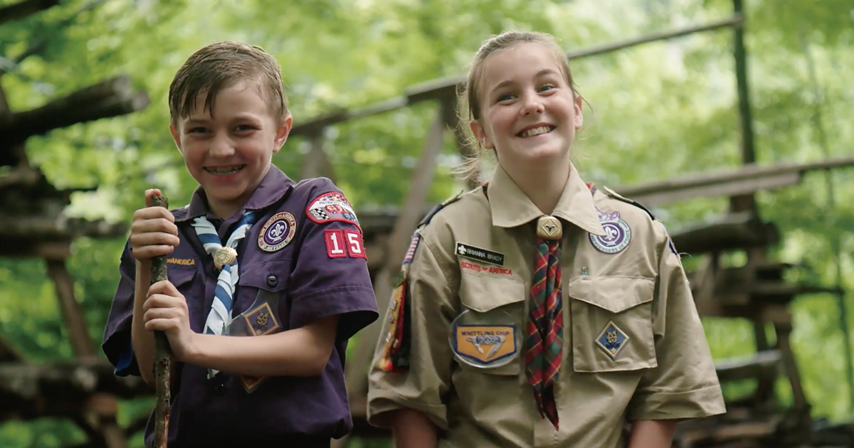 Female Webelos proves boys, girls have more in common than you might think