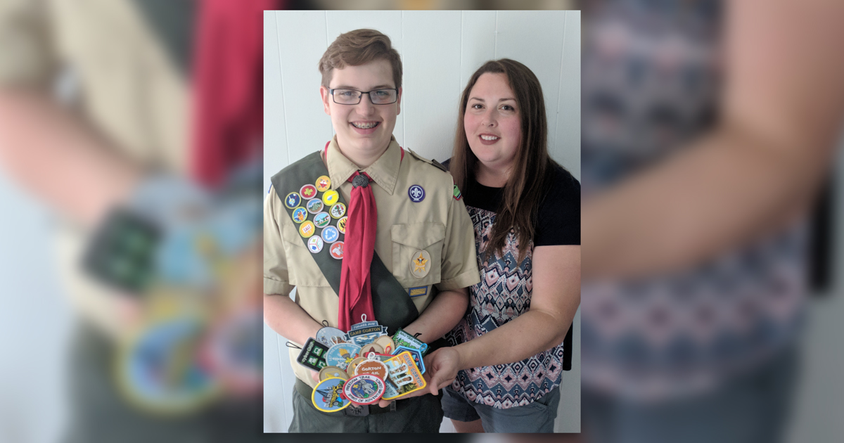 Help! This mom wants ideas for what to do with her son's 'mini stockpile' of patches