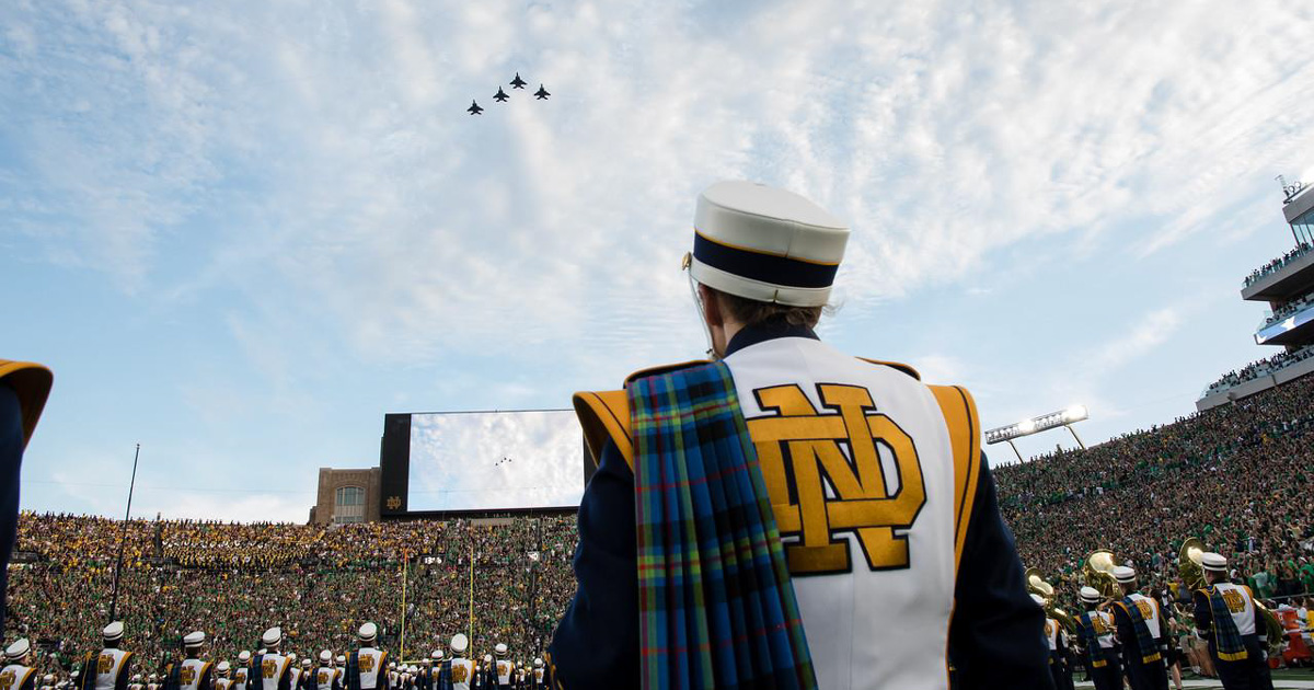 5 ways Notre Dame's Band of the Fighting Irish uses Scouting principles every day