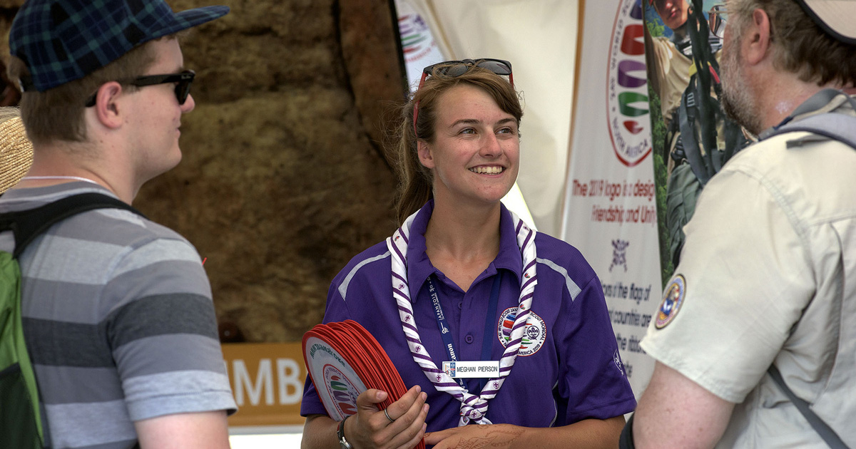 Have a very particular set of skills? The World Scout Jamboree needs you on staff