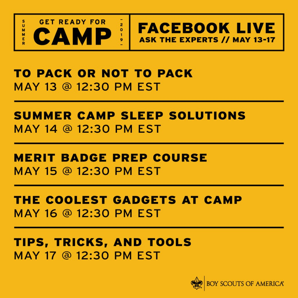 GetReadyforCamp: A week full of deals, contests and prizes no Scout