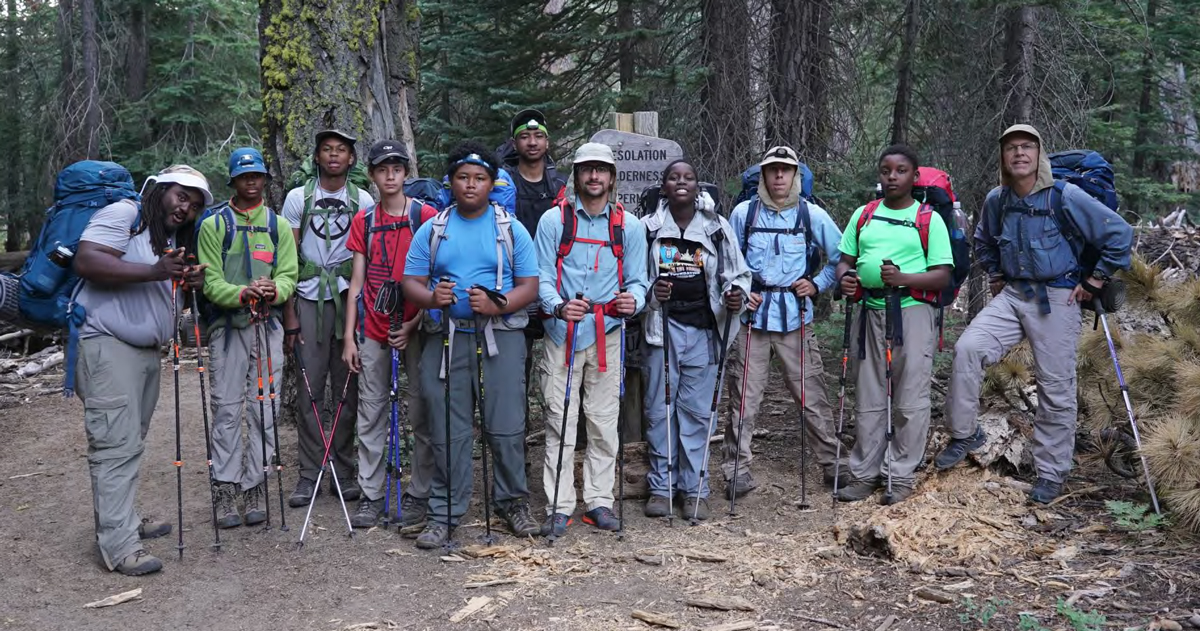 2019 Western Region Eagle Project of the Year: Backpacking for underserved youth