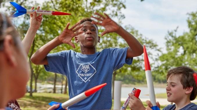 Cub Scout rockets
