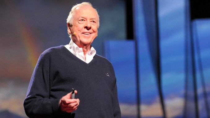Photo of T Boone Pickens