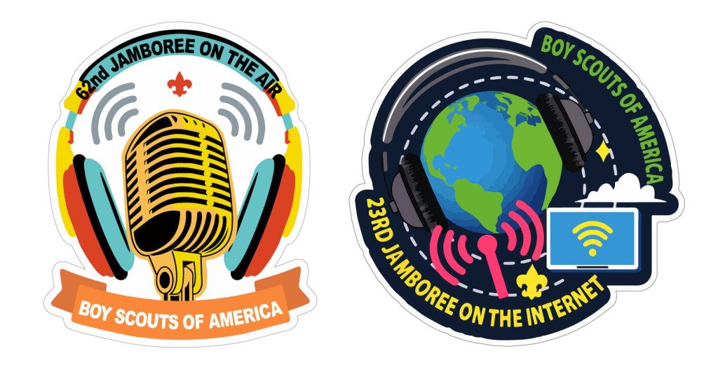 Can you hear me now? It's time for the Jamboree-on-the-Air, Jamboree-on-the-Internet