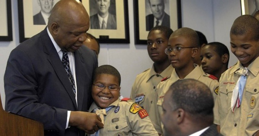 Rep Cummings and Scouts