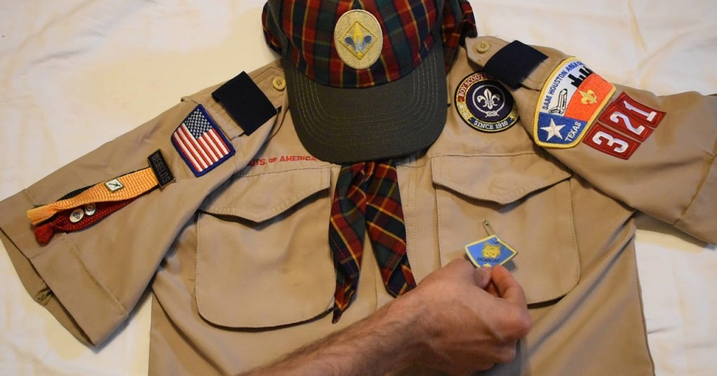 New to Scouting as a Webelos Scout? Yes, you can wear the Bobcat badge