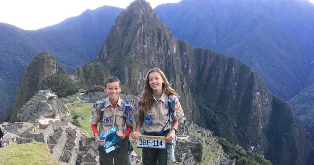 'Friendly competition' in Scouting brings brother and sister closer together