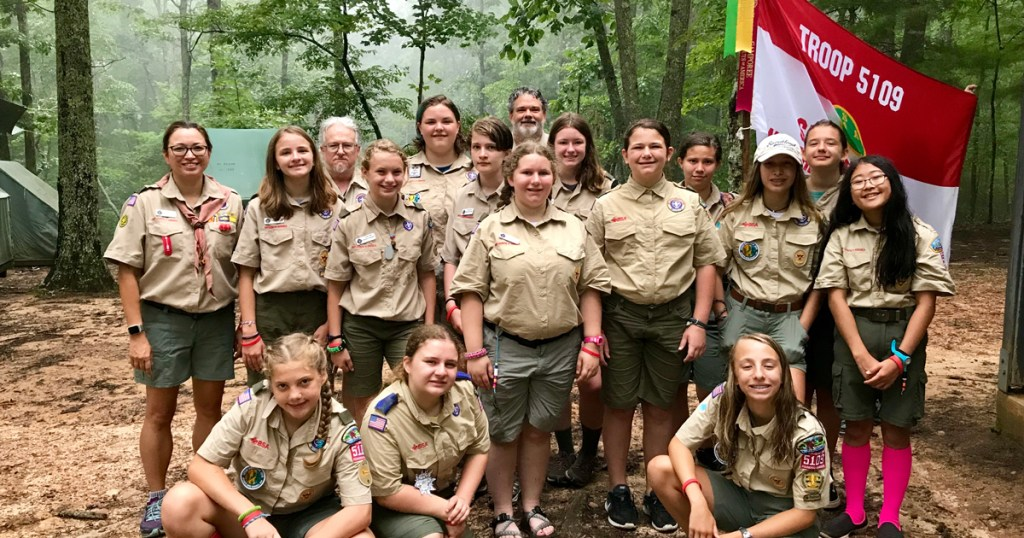 A year in the life of Troop 5109, one of the first Scouts BSA troops for girls