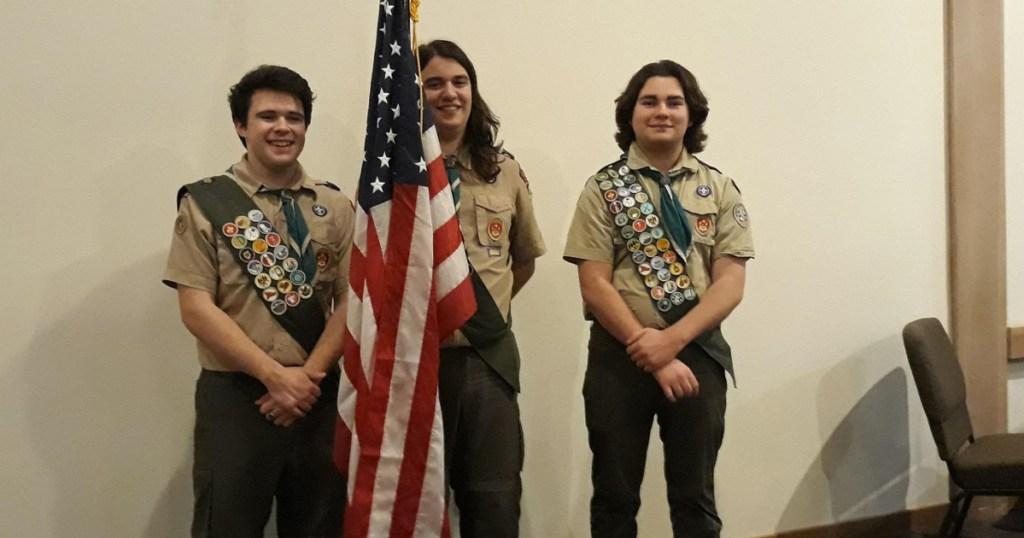 From left: Andrew Buchanan, Adam De Paolis and Andrew Nelson