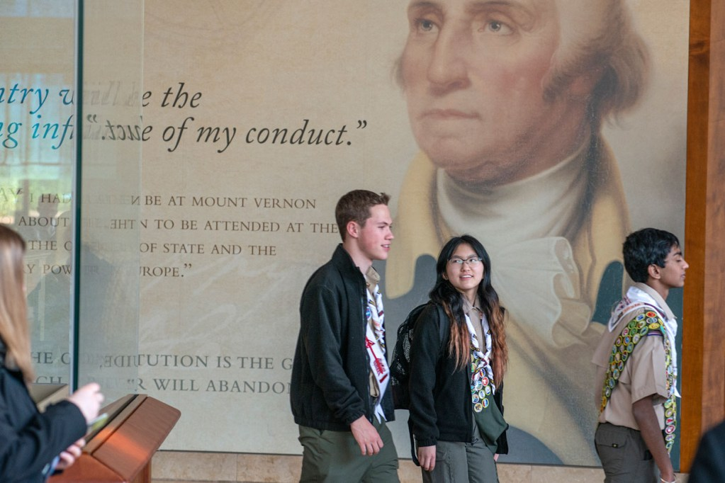 We cannot tell a lie — George Washington's rules mirror the Scout Law