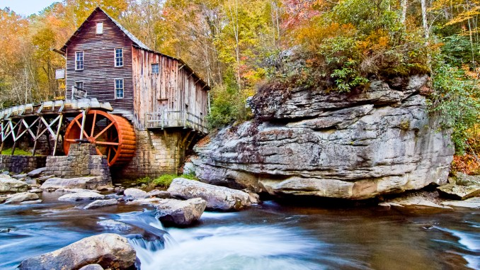 The Glade Creek Grist Mill in West Virginia. Photo by Gary Hartley