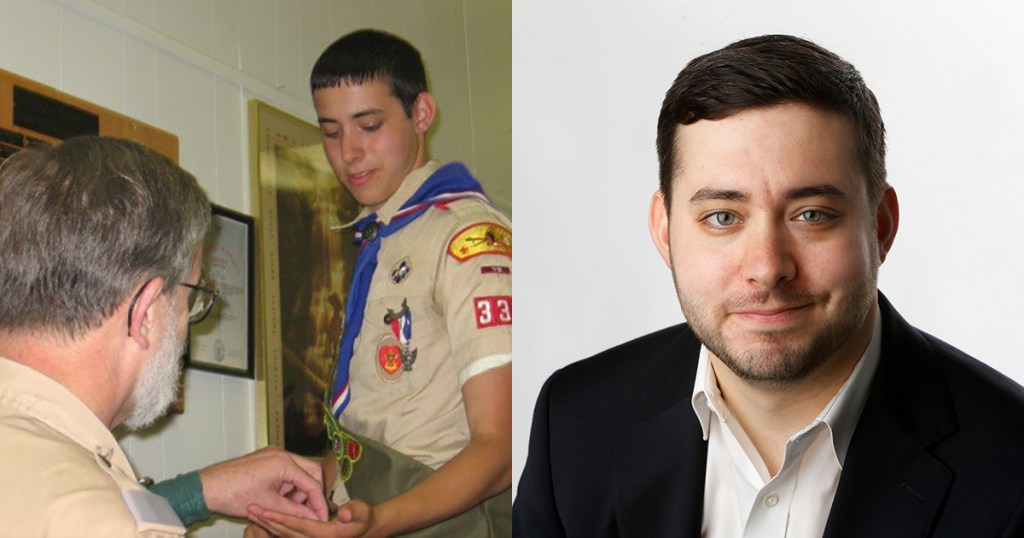 Dogged determination helped him earn Eagle Scout Award, 2020 Pulitzer Prize