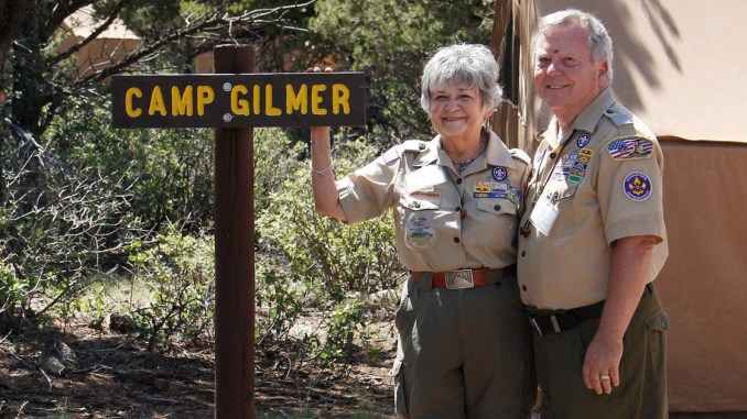 The Chickasaw Council's 2008 Eagle Scout Class was named after Sammie and Phil Gilmer, who also have a campsite at Philmont Scout Ranch named in their honor.