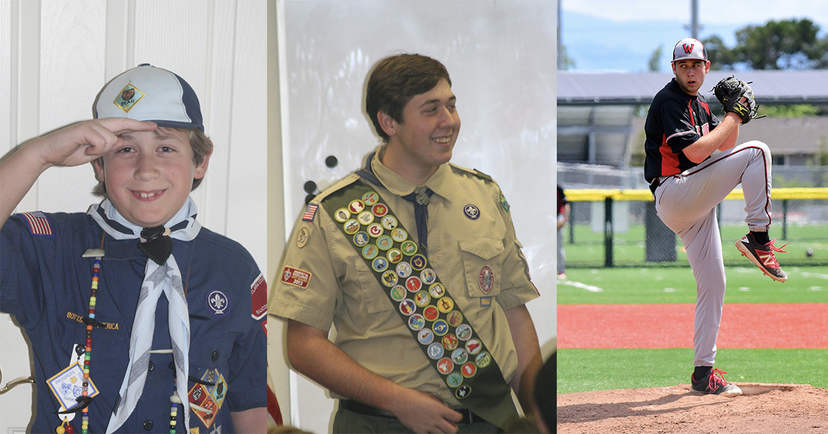 School, sports, Scouts — here's how this pro baseball player and Eagle Scout did it all