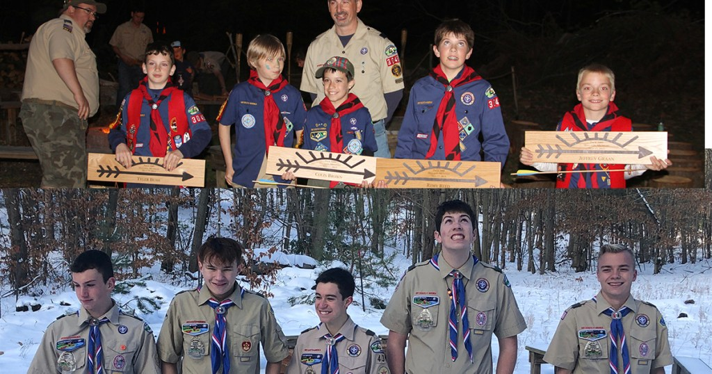 All 5 members of Webelos den earn Eagle, but each takes away something unique