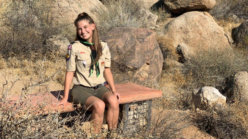 'CBS Evening News' profiles Scout's quest to join Inaugural Class of Female Eagle Scouts