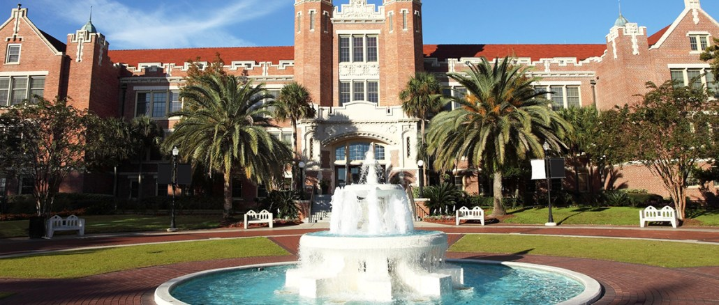 The campus of Florida State University —one of several schools that responded to our questions about how their admissions office perceives the rank of Eagle Scout. Photo by Denis Tangney Jr./Getty Images