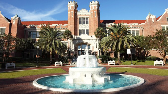 The campus of Florida State University — one of several schools that responded to our questions about how their admissions office perceives the rank of Eagle Scout. Photo by Denis Tangney Jr./Getty Images