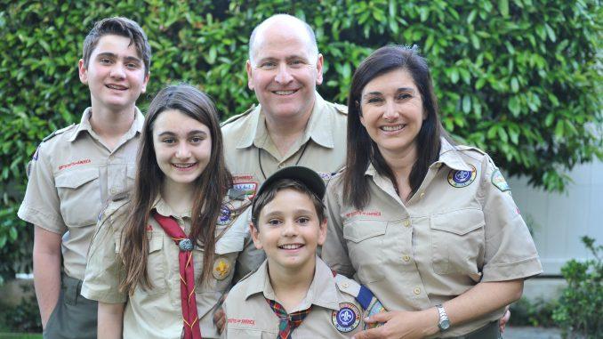 The Hovanesians, from left: Joseph, Ani, John, Danny and Tanya.