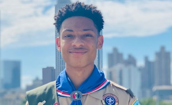 Meet the 15-year-old ground-breaking Eagle Scout debate champion
