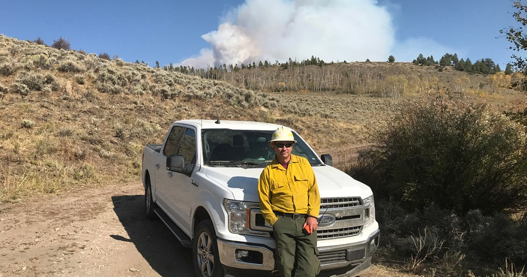 Eagle Scout on the front lines of fight against Western wildfires
