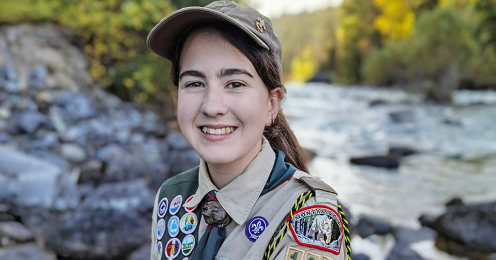 Selfless Scout proves that 'even though I am 13, I can make a difference'