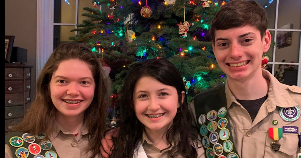 5 Quick Questions with: Three Oregon siblings who will soon be Eagle Scouts